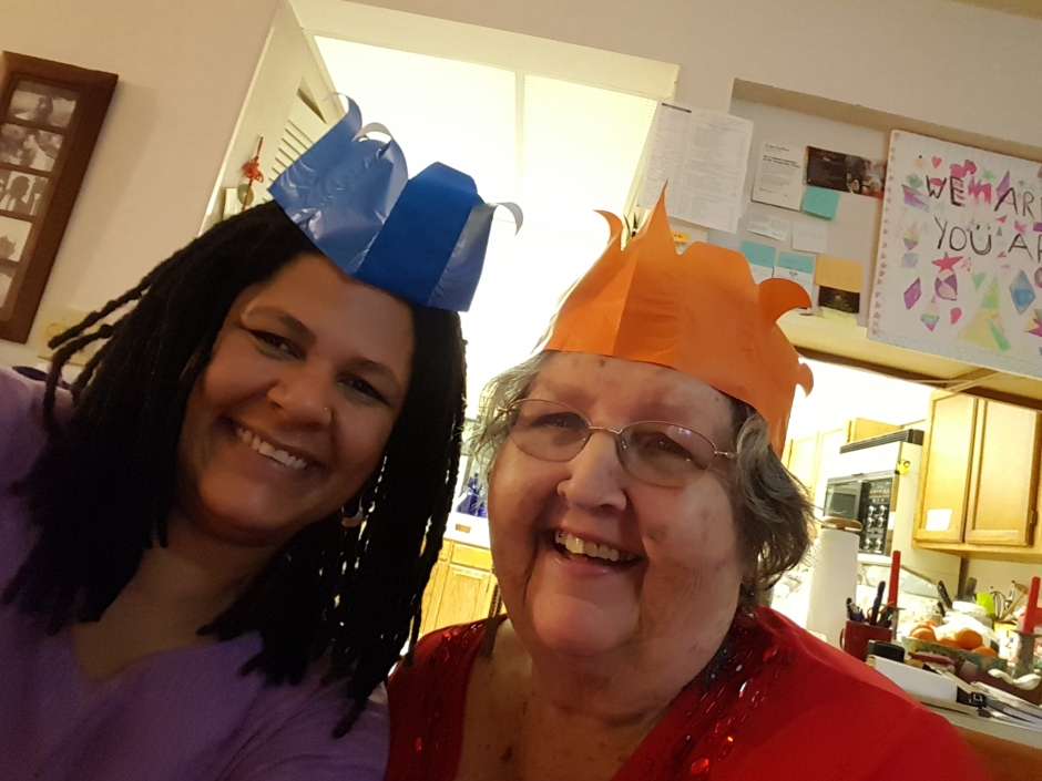 Mom and me xmas 2015