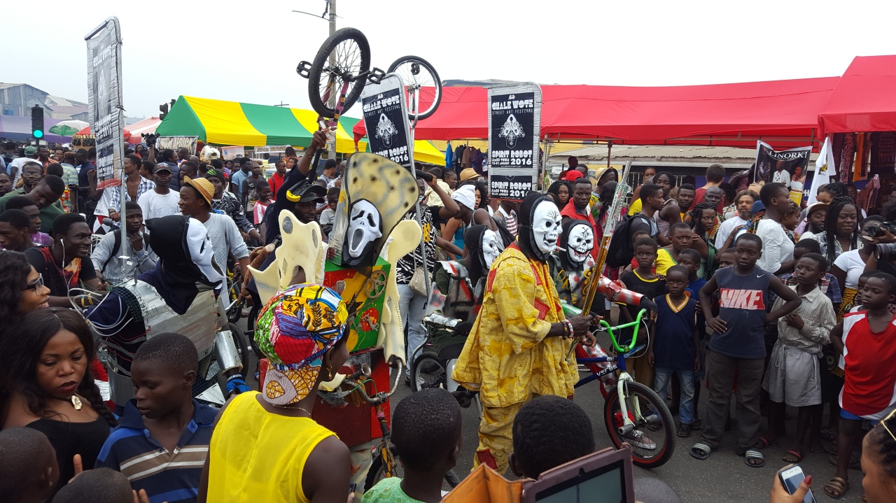 Image result for Accra's Chale Wote street art festival images
